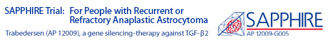Sapphire Clinical Trial for People with Recurrent Anaplastic Astrocytoma