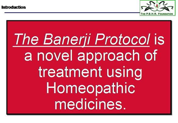 Banerji Protocol